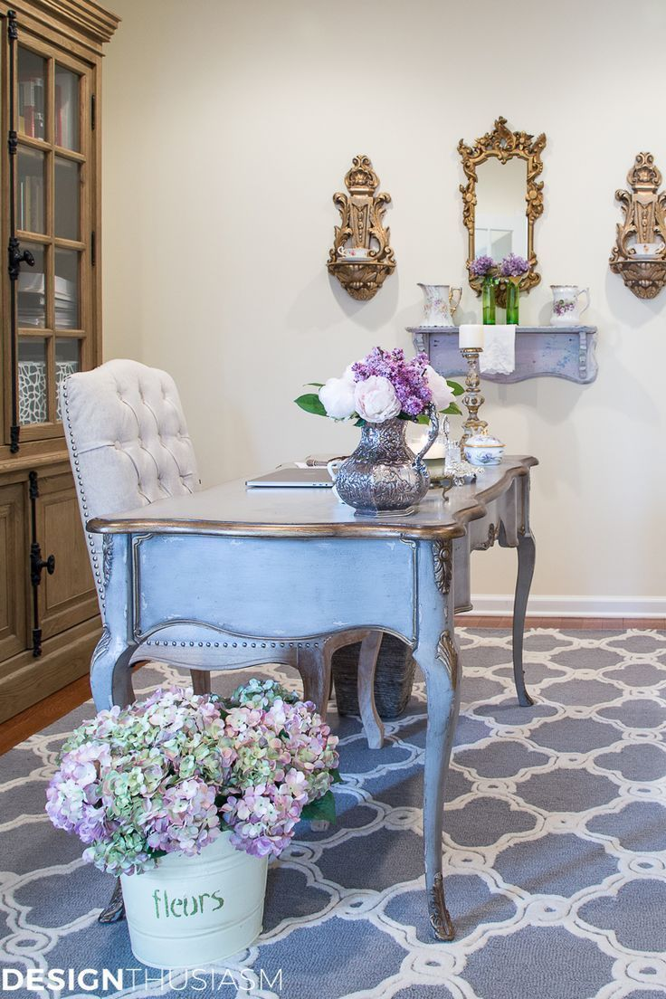 French Country Office Decor Ideas How One Item Can Unify a Room  French Country Office Decor Ideas How One Item Can Unify a Room