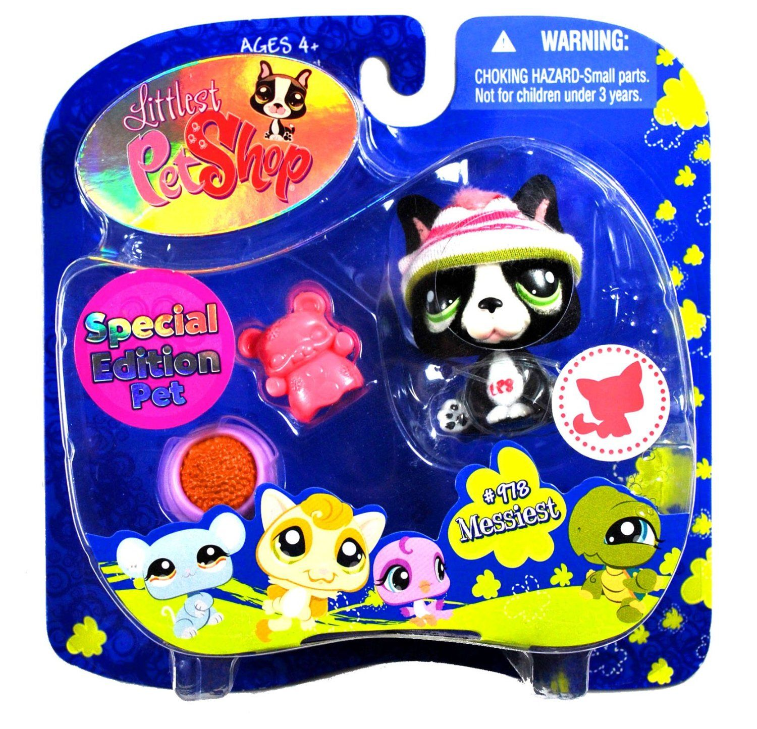 """Pin By Jane Reding On Janieruthsfinds: Hasbro Year 2008 Littlest Pet Shop Portable Pets """"Special"""