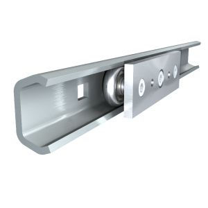 Linear Guide Roller Bearing Sliding Rail Door | consoles in