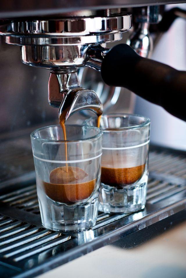Beautiful shots of espresso!