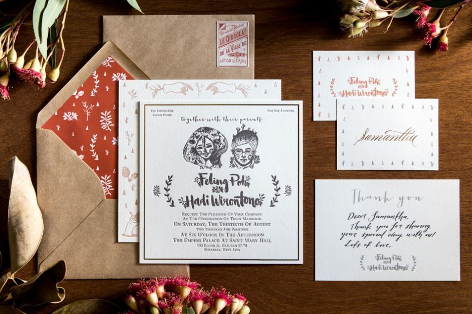 This is incredible! Unique work by Lovely Card    wwwbridestory - wedding invitation design surabaya