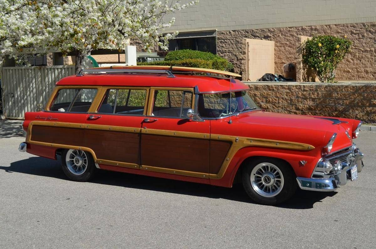 1955 Ford Country Squire Woodie Station Wagon for sale #1810548 ...