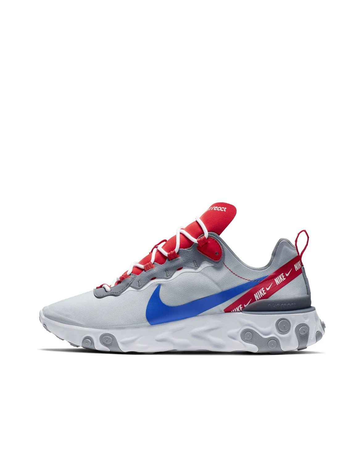 separation shoes c4143 97ded Nike React Element 55 Sneaker Heads, Nike Trainers, Sneakers Nike, Sports  Shoes,