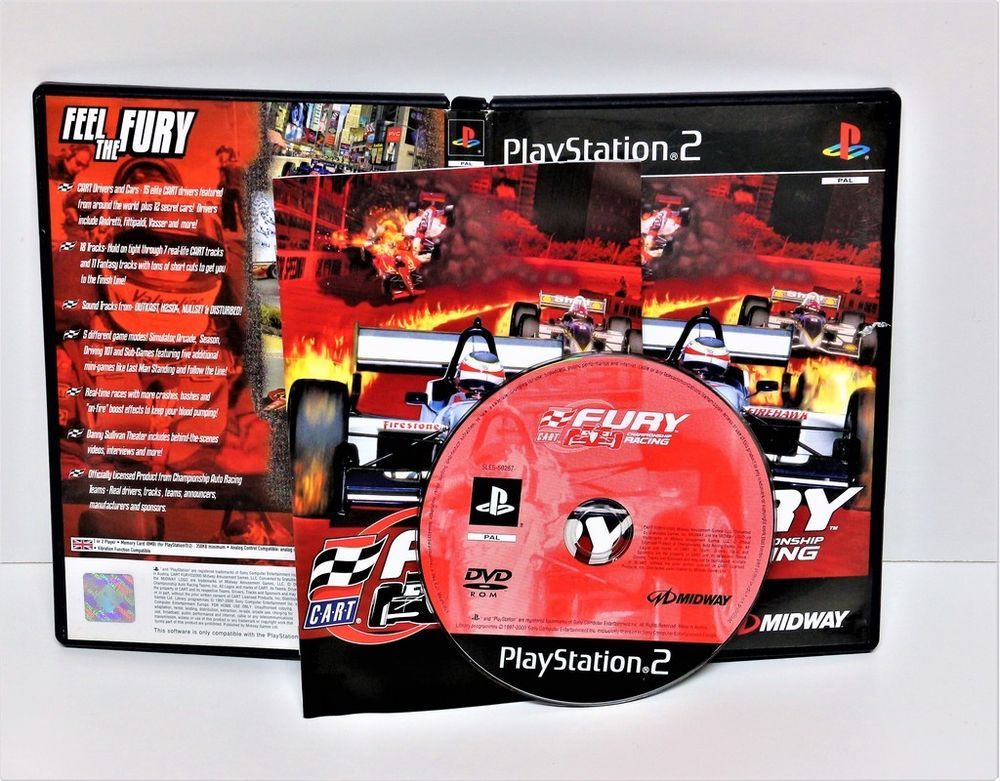 PLAYSTATION 2 FURY CHAMPIONSHIP RACING GAME PS1 PS2 PS3 PAL COMPLETE     PLAYSTATION 2 FURY CHAMPIONSHIP RACING GAME PS1 PS2 PS3 PAL COMPLETE