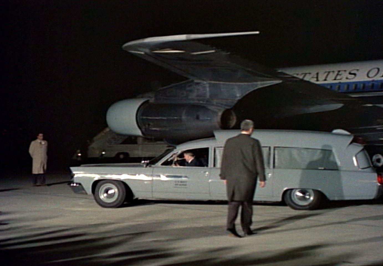RARE John F Kennedy Casket PHOTO Ambulance Air Force One JFK Assassination 1963