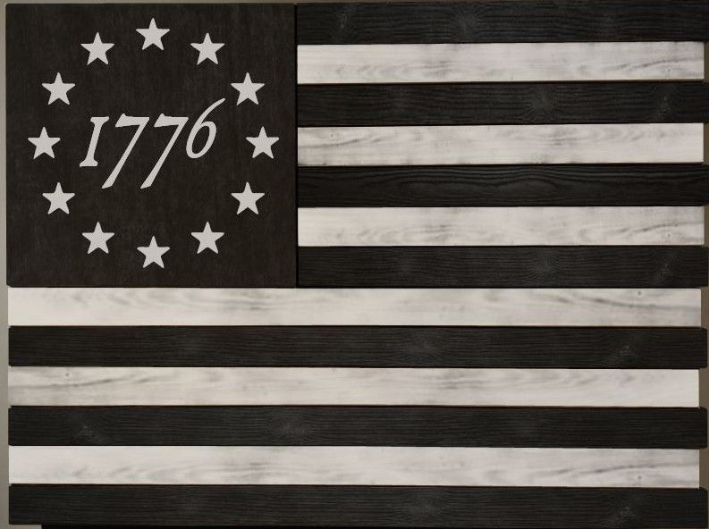 1776 Betsy Ross Colonial Flag American Flag Tattoo Flag Tattoo Colonial Flag