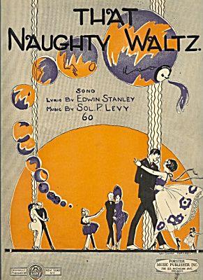That Naughty Waltz - Cover Artist Helen Van Doorn Morgan