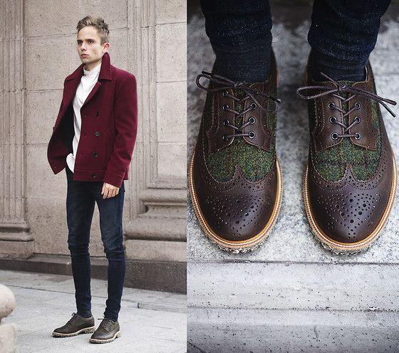 Get this look: http://lb.nu/look/8041010  More looks by Daniil Shamatrin: http://lb.nu/daniilsh  Items in this look:  Coat, Shoes   #bohemian #dapper #gothic #fmestore #followmyeyes #coat #fmestreetstyle