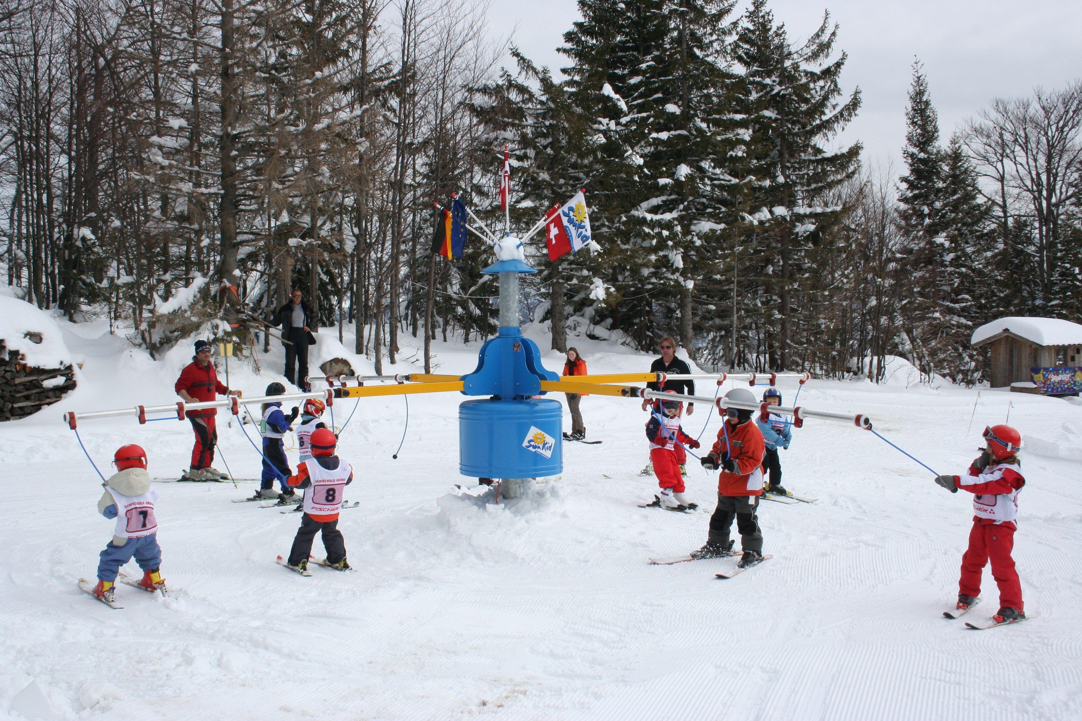Kinder Ski Caroussel