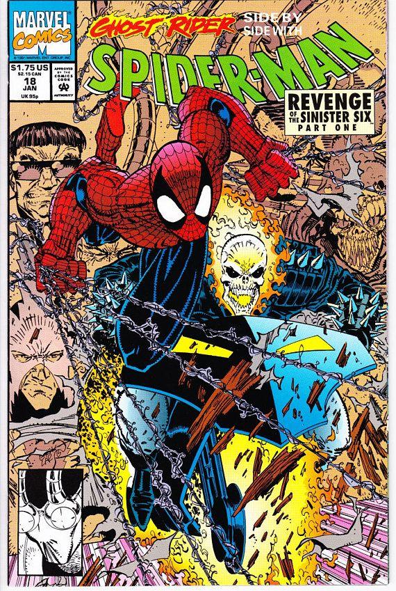 NM Spider-Man #6 January 1991 Marvel Spiderman Comic Book