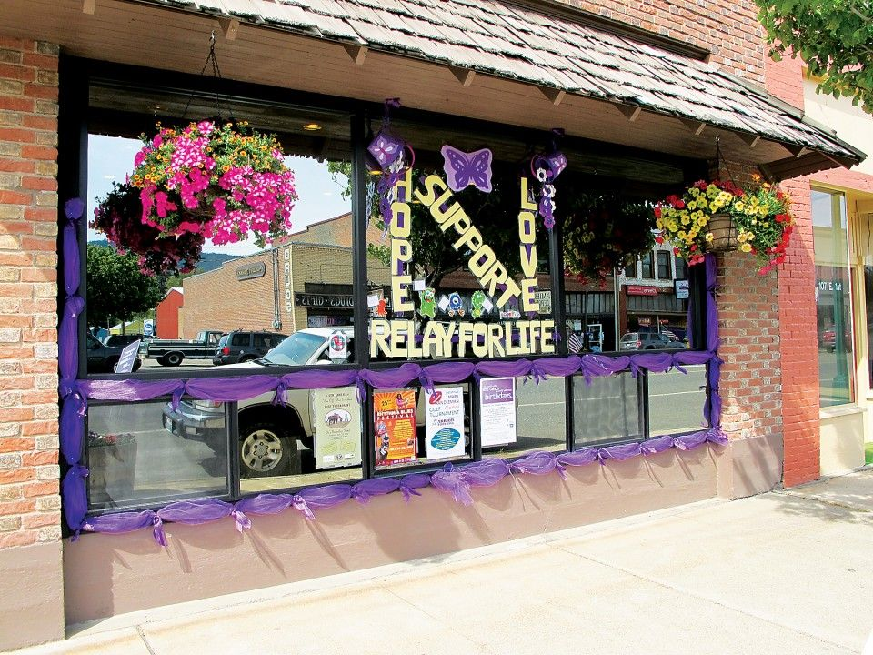 Paint The Town Purple Relay For Life Awareness Ribbons Awareness Ribbons Colors