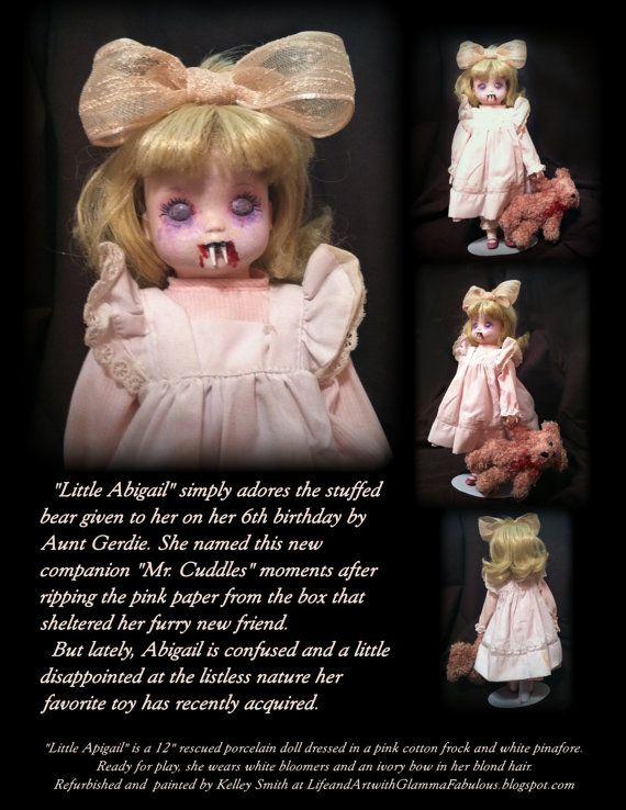 DIY creepy ass dollsthis is my kind of halloween decor - creepy halloween decor