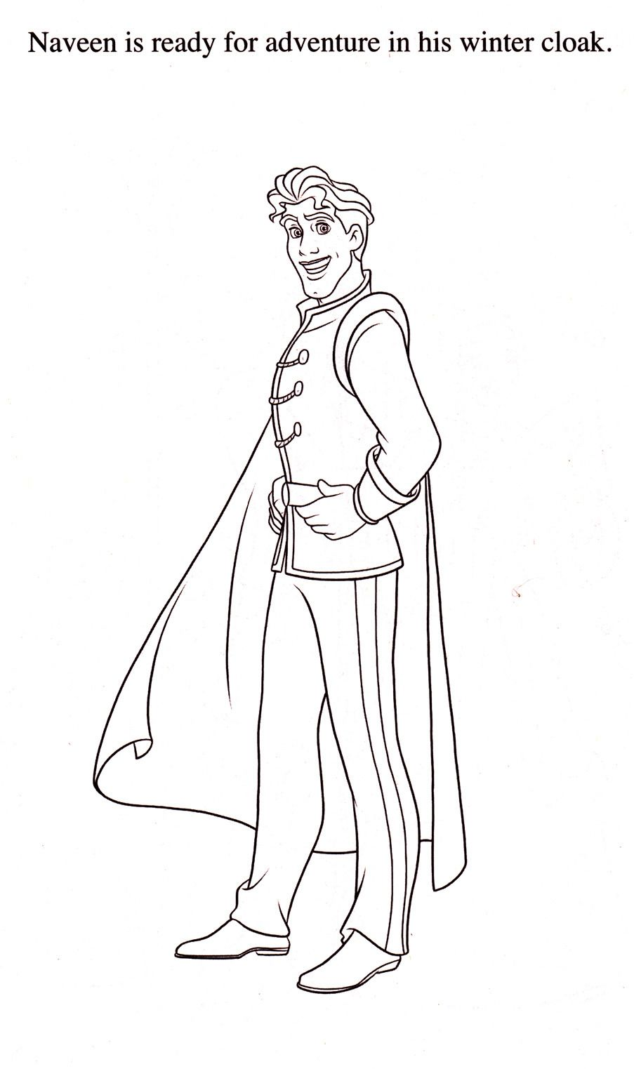 Prince Naveen Disney Coloring Pages Descendants Coloring Pages