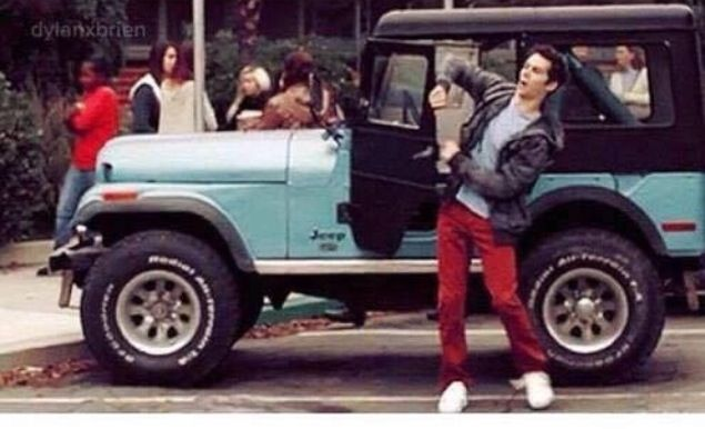 Top Stiles Stilinski (Dylan O'Brien) and his Jeep | Fangirlin  VW46