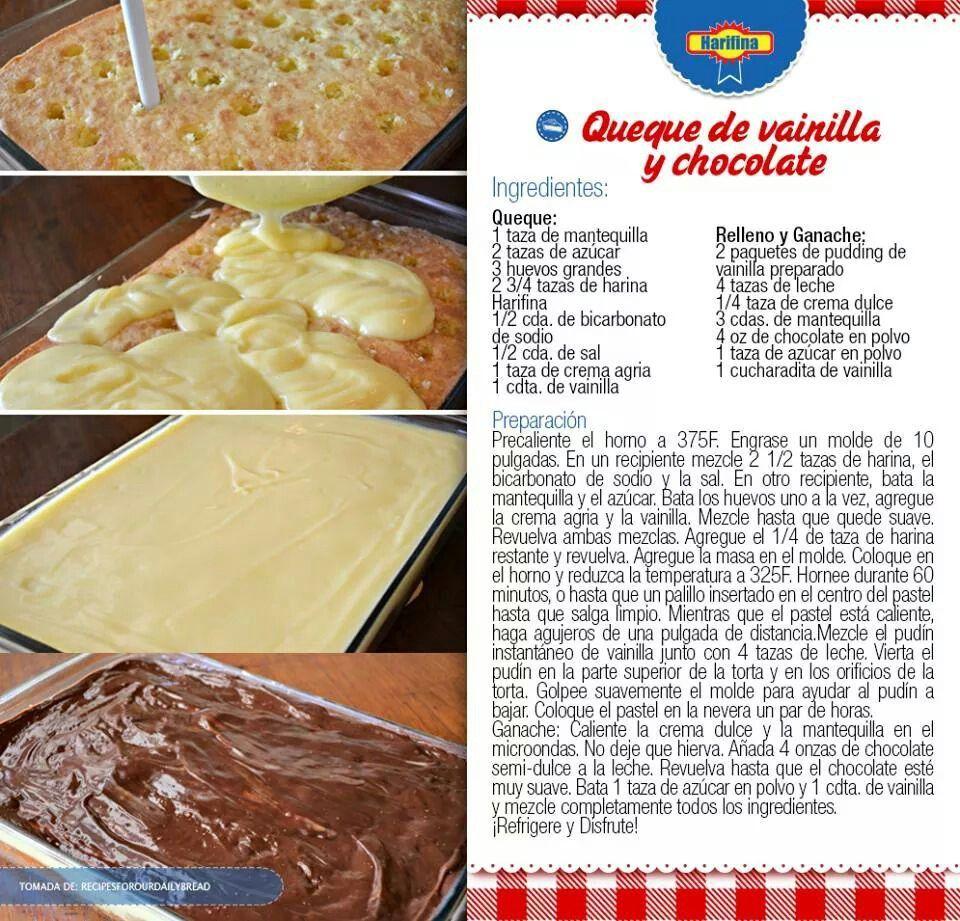 recetas para queques