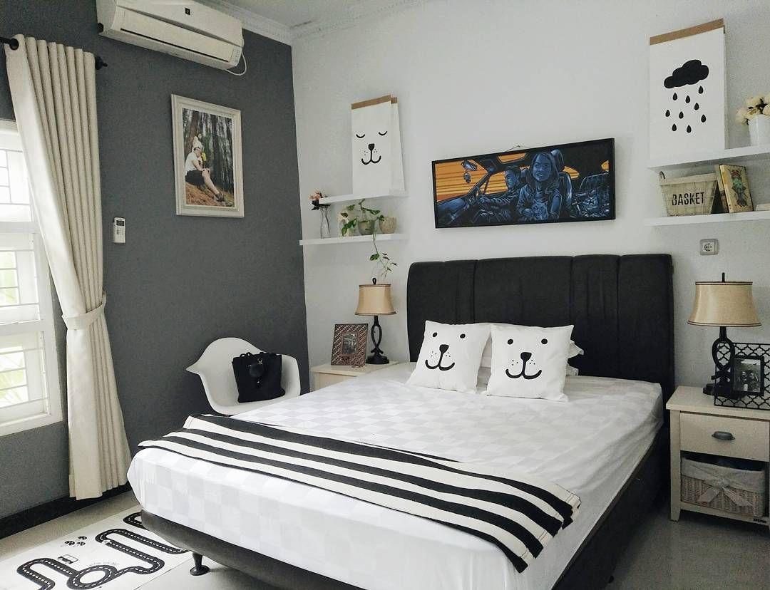 desain kamar tidur sederhana minimalis | bed room | dormitorio