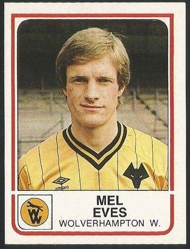 PANINI - FOOTBALL 84 1984 - #374 - WOLVERHAMPTON WANDERERS - MEL EVES