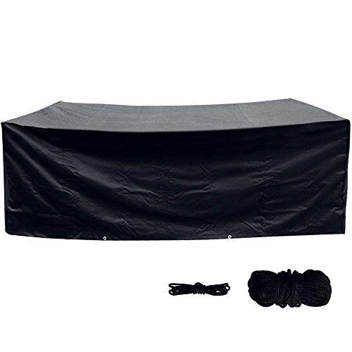Anpro Cubierta de Protección para Muebles de Jardín Contra el Sol de ...