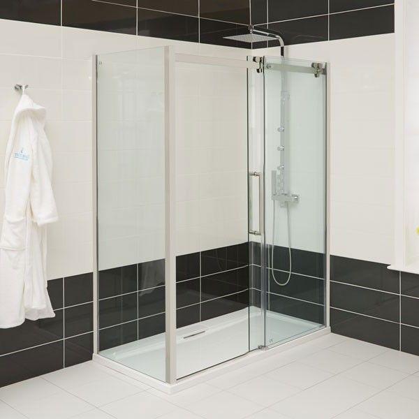 Kohler K 702217 L Shp Fluence 3 8 Thick Glass Bypass Shower Door