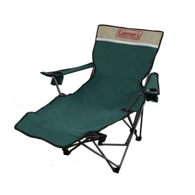 Ore International 39 In Portable Lounge Reclining Chair In Green