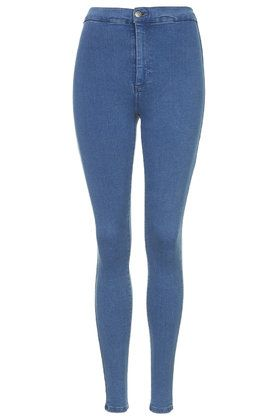 TOPSHOP MOTO Washed Black Joni Jeans (34.695 CRC) ❤ liked on ...