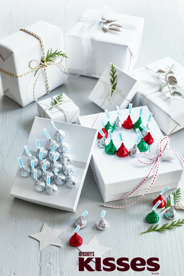 Say joy with a Kiss. Click for fun and creative Kissmas crafts with ...