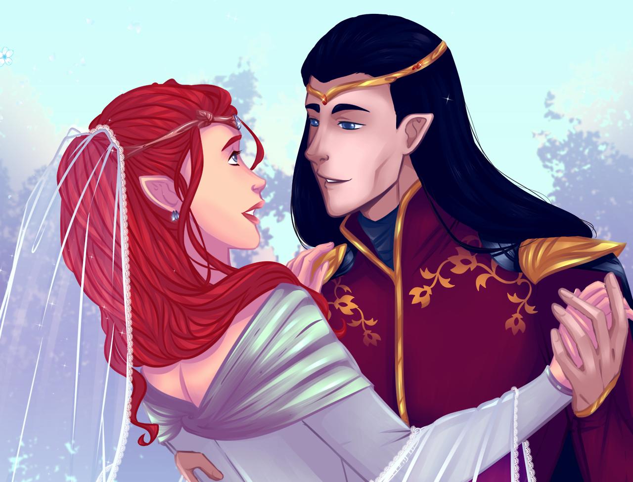 Wedding of Fëanor and Nerdanel