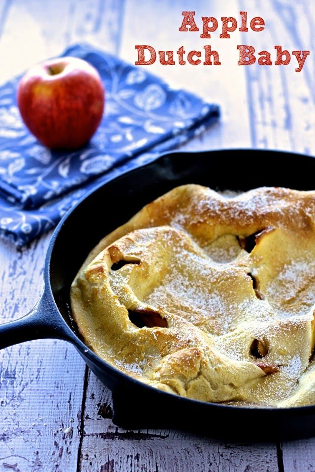 Dining with the Doc: Apple Dutch Baby | Recipes, Baby food ...