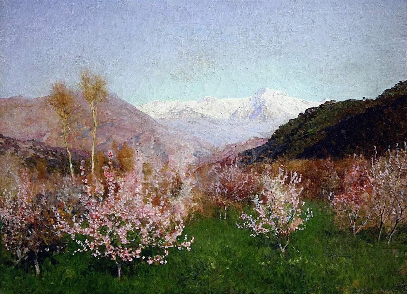 Картинки по запросу исаак левитан весна