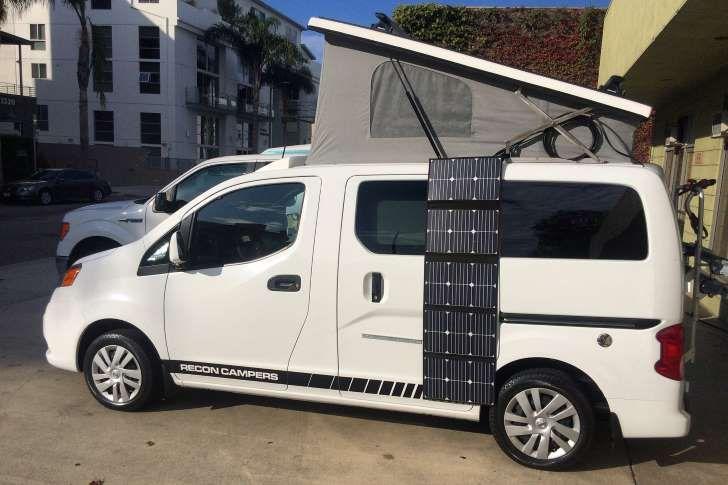 Recon Campers Nissan Nv 200 Van Conversion Alternativa Tempo