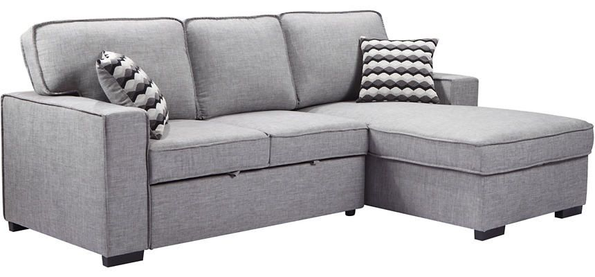 Pull Out Sleeper Storage Chaise
