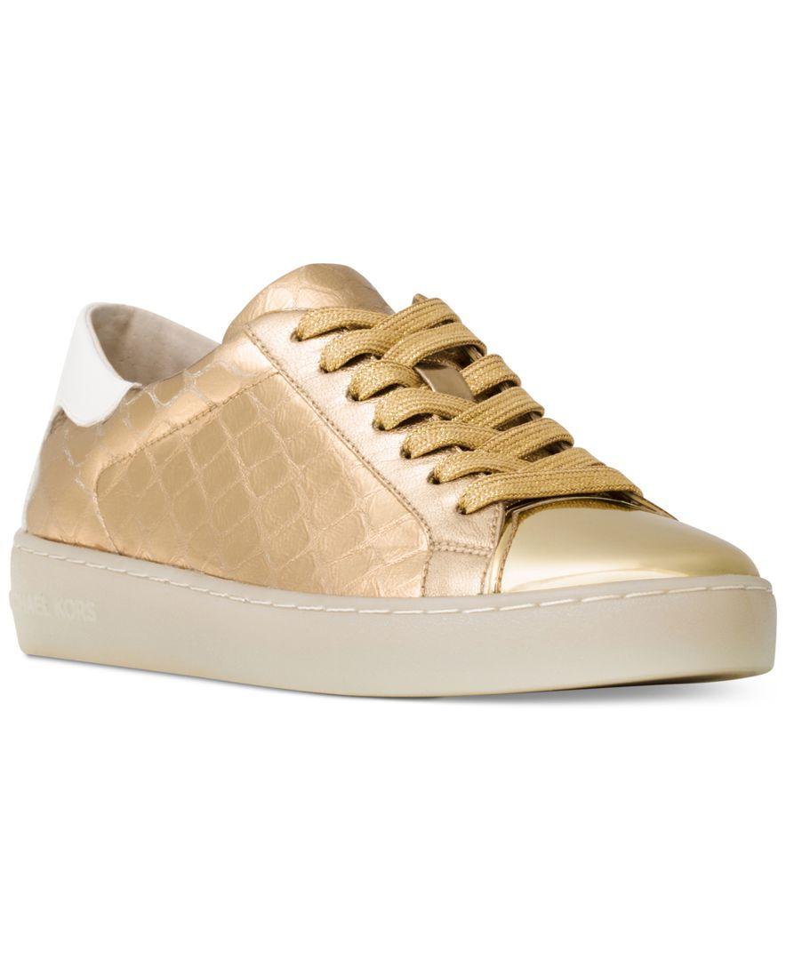 9dab100d5c3f6 Michael Michael Kors Frankie Sneakers   Stylish shoes   Metallic ...