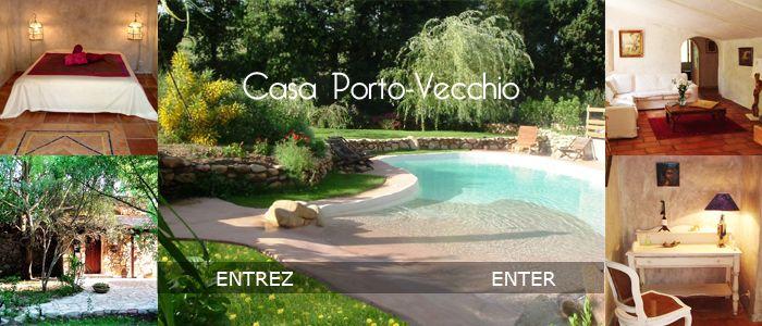 Location porto vecchio corse maison villa de vacances piscine corse du sud vacances - Villa de reve pineapple jamaique ...