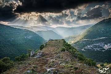 وادي جهنم القدموس طرطوس سوريا Land Before Time Waterfall Outdoor