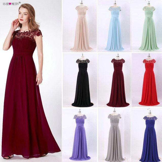 Evening Dresses Fashion Ever Pretty Purple EP09993 Chiffon ...