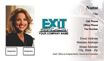 Exit Realty Business Card WP1018. Visit http://www.bestprintbuy.com/exit-realty/exit-realty-business-cards/exit-realty-business-cards-with-photo.htm