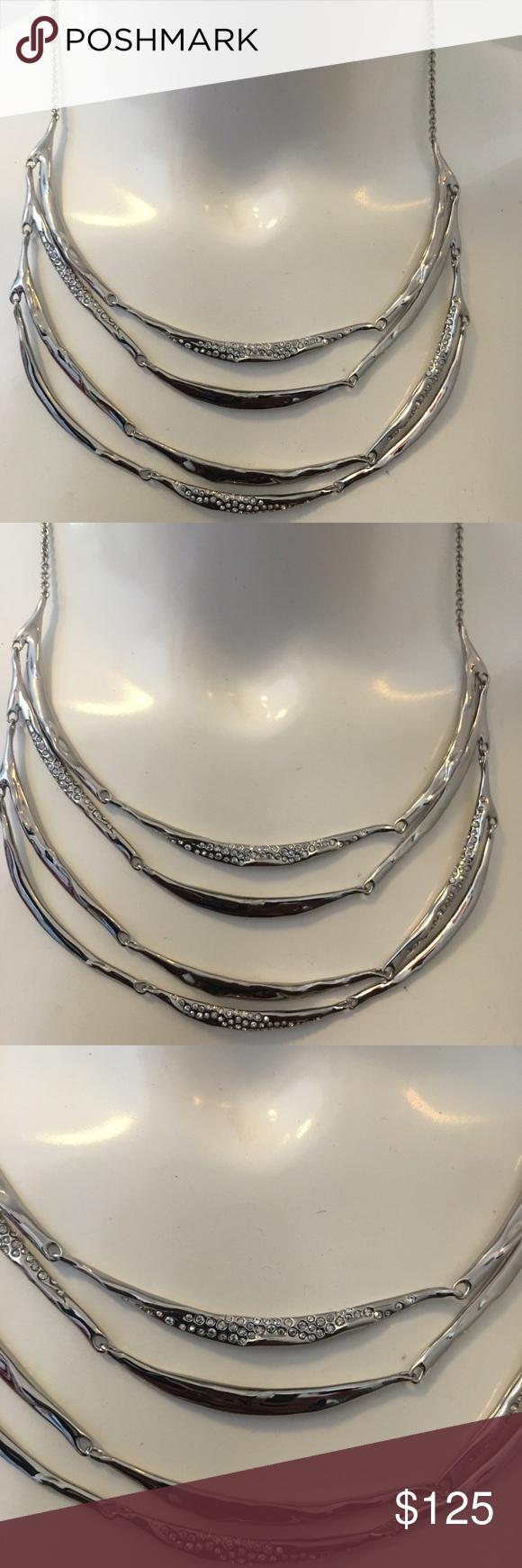 Encrusted drape necklace Encrusted drape necklace Alexis Bittar Jewelry Necklaces