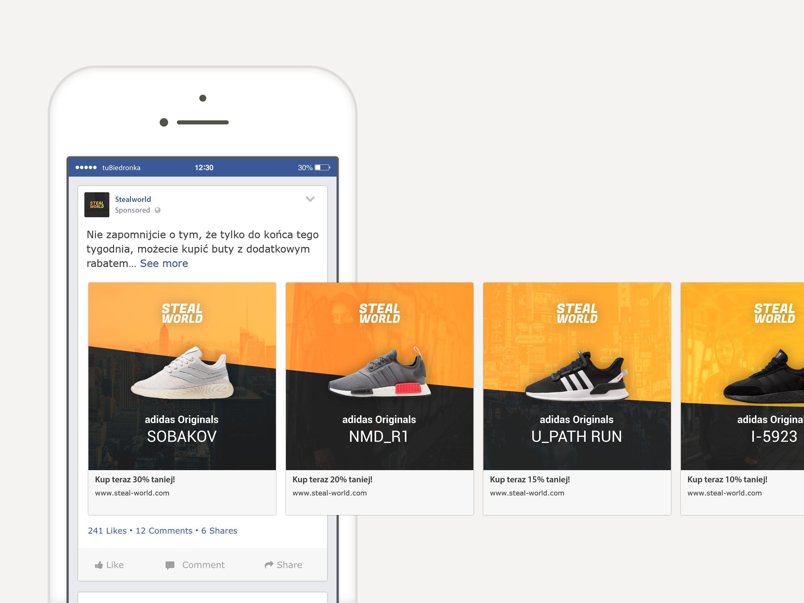 Carousel Advertisement On Facebook In 2020 Facebook Design Social Media Design Inspiration Advertising