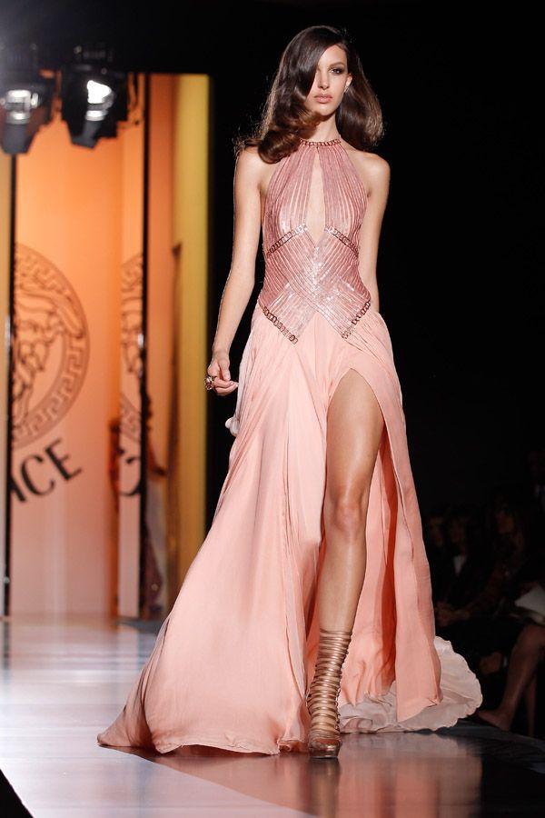 Vestidos de fiesta de Versace - Alta Costura 2012 ...