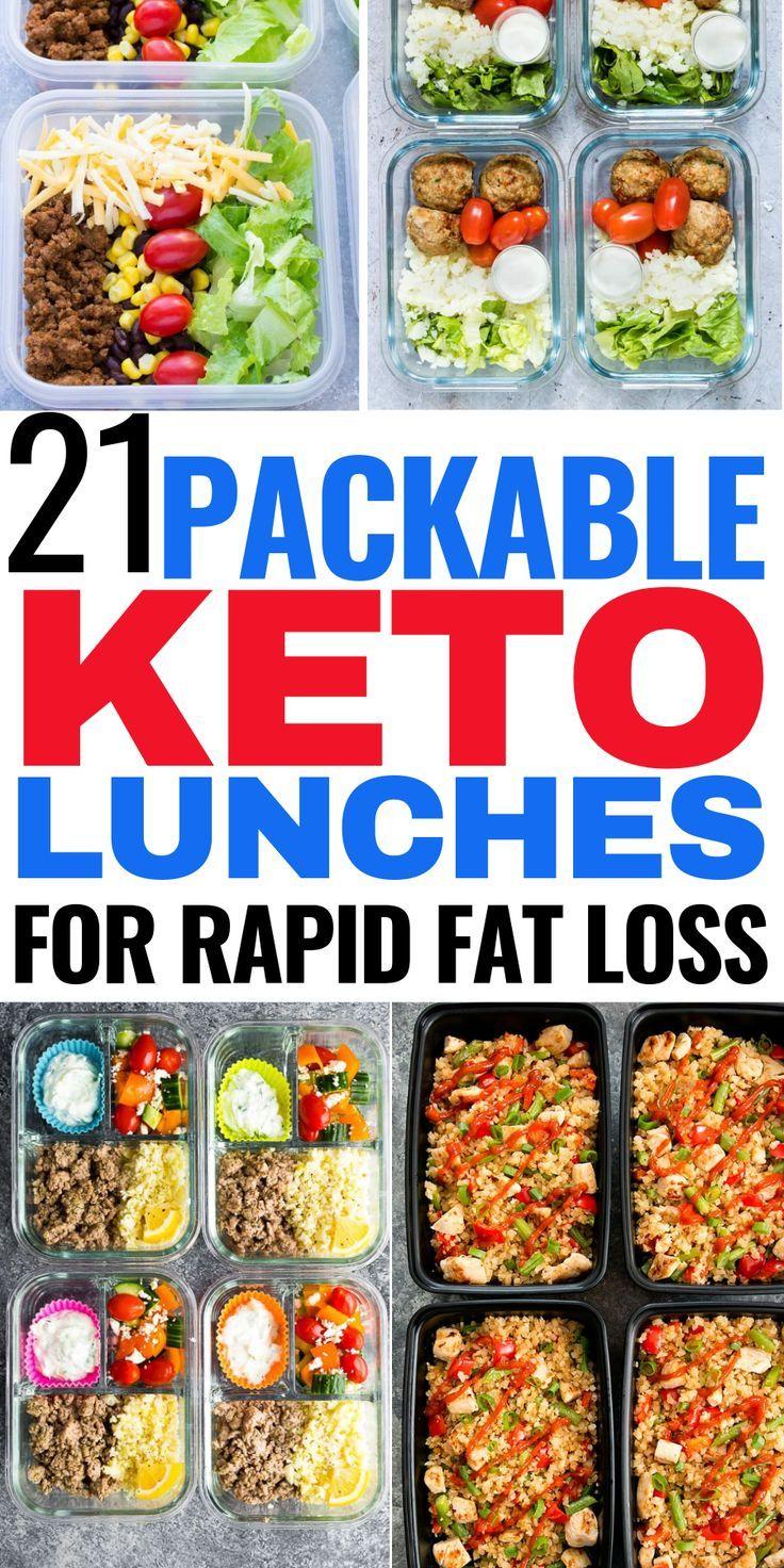 21 Keto Meal Prep Recipes That'll Make It Easy to Burn Fat #ketodinnerrecipes