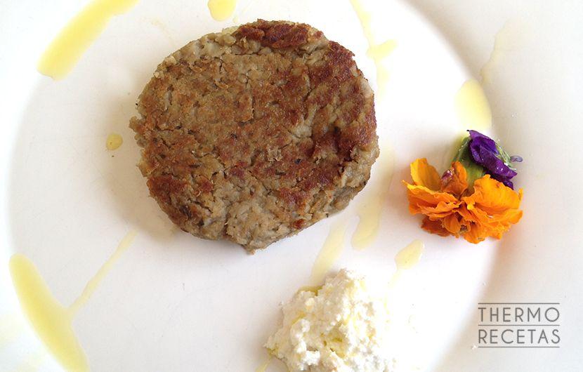 Hamburguesas de berenjena  Receta  Desayuno almuerzo y