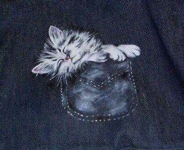 Eu já aqui tinha avisado que havia outro gato... numa mala não já?! Lembram-se? O PRIMEIRO GATO QUE PINTEI... Pois!... Todas as peças têm uma história por detrás.... Certo dia, Este não é o melhor começo.  Devem ser cerca de 70% as histórias que com...