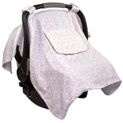 6522fdff4 Summer Infant Muslin Little Looks Car Seat Canopy in Pink