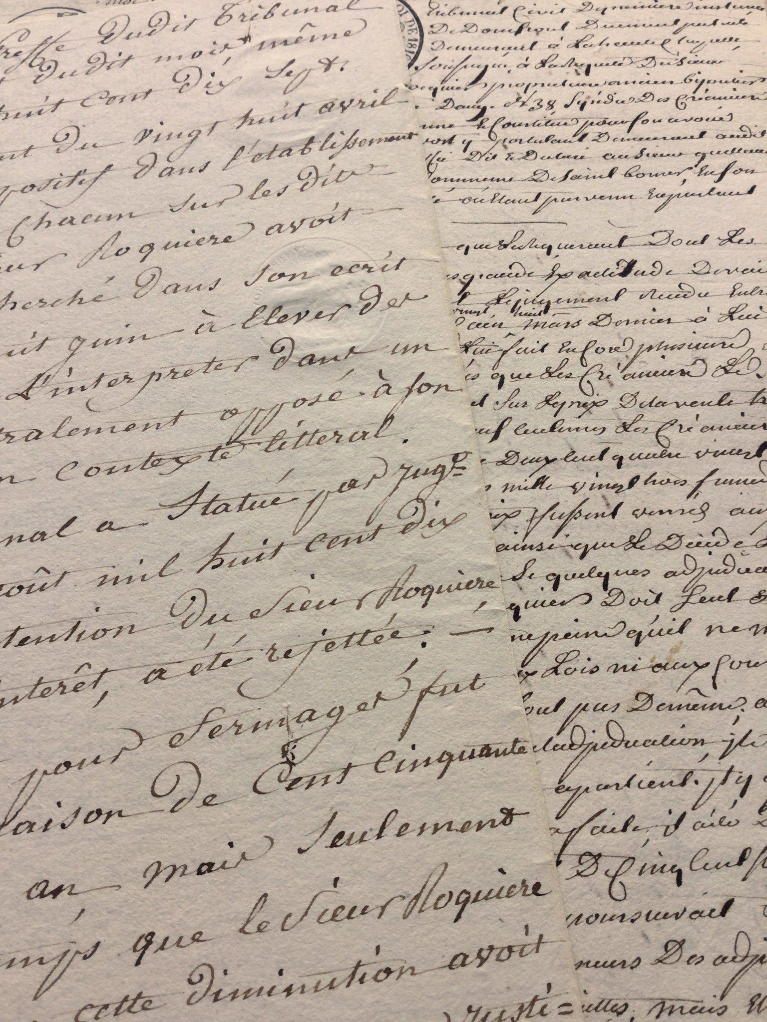 1820s Vintage French Script Ephemera Scripts Paper Antique French Documents Papers 1800 S Hand Cursive Writing Handwritten Calligraphy Cursive Writing Cursive French Script