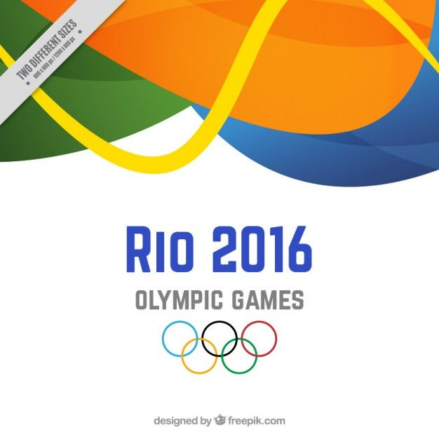Background of rio 2016 with abstract sha... | Free Vector #Freepik #freevector #background #abstract...