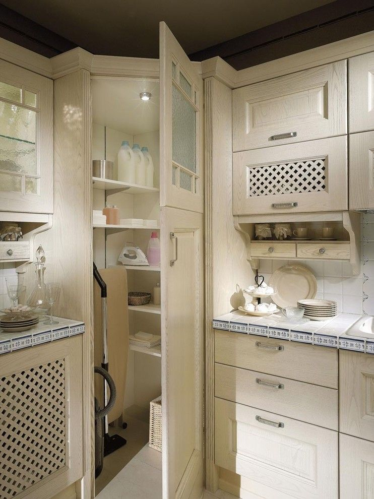 Fantastic Corner Broom Closet Kitchen Inspirations