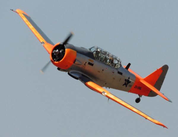 South African Air Force Historic Flight North American T-6 ...