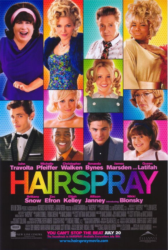 hairspray 27x40 movie poster (2007) in 2018 | cool/random pictures