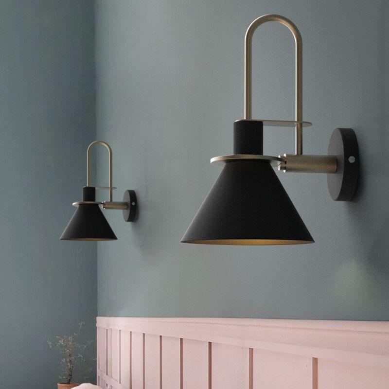 modern simple nordic living room stairway aisle bedroom bedside e27 rh pinterest com