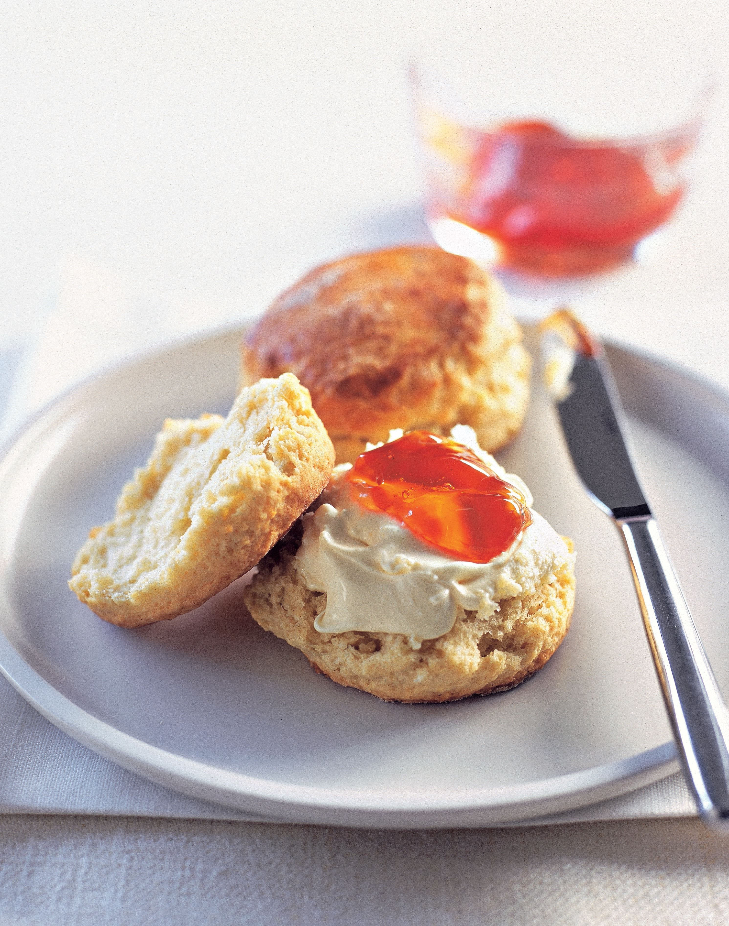 Buttermilk scones recipe from Desserts by James Martin